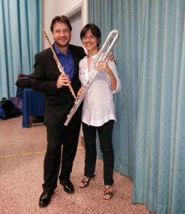 Silvia Mandraffino e Andrea Oliva